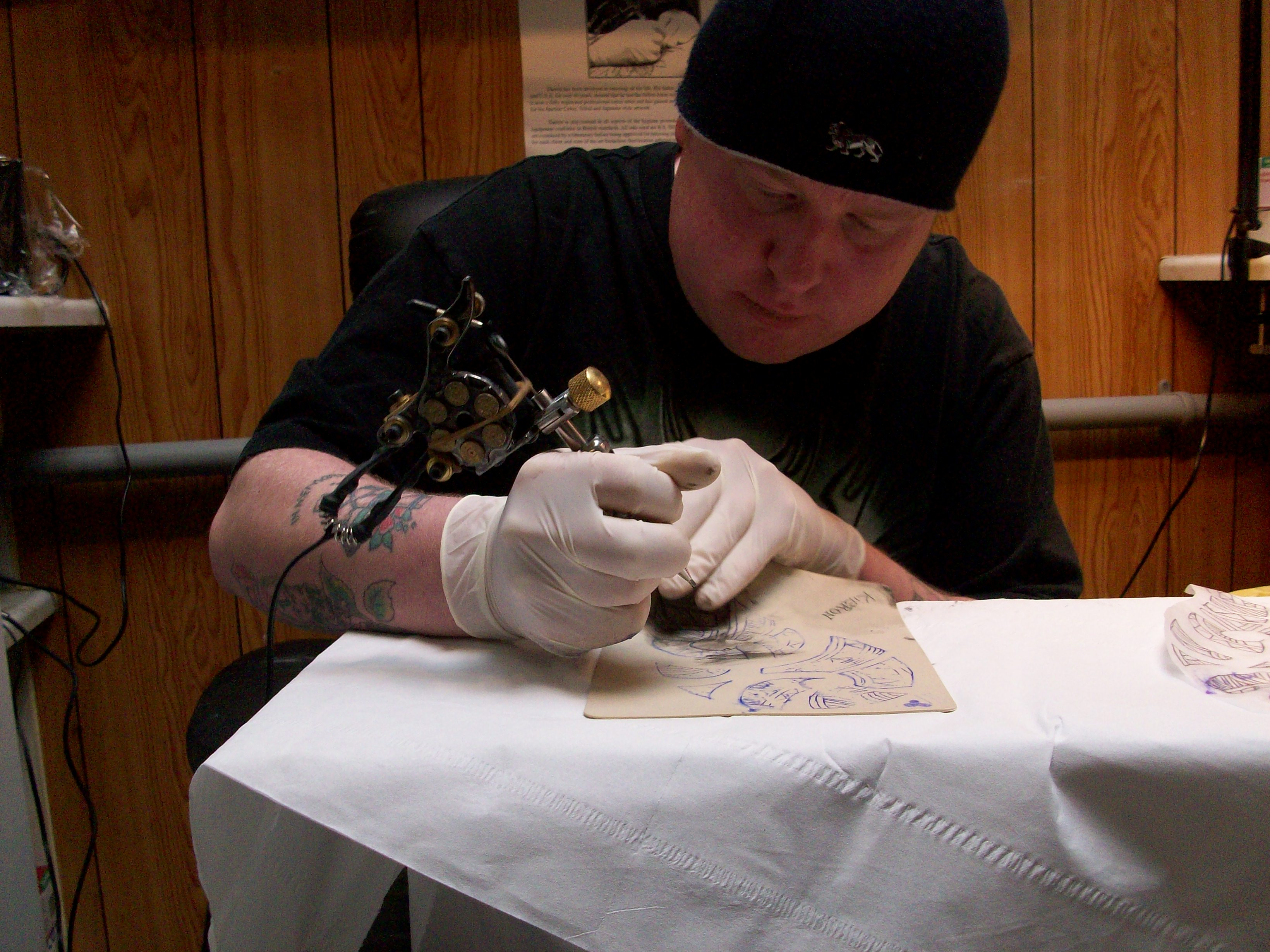 Tattoo training by professional artist in tamworth studio for Tattoo artist education courses