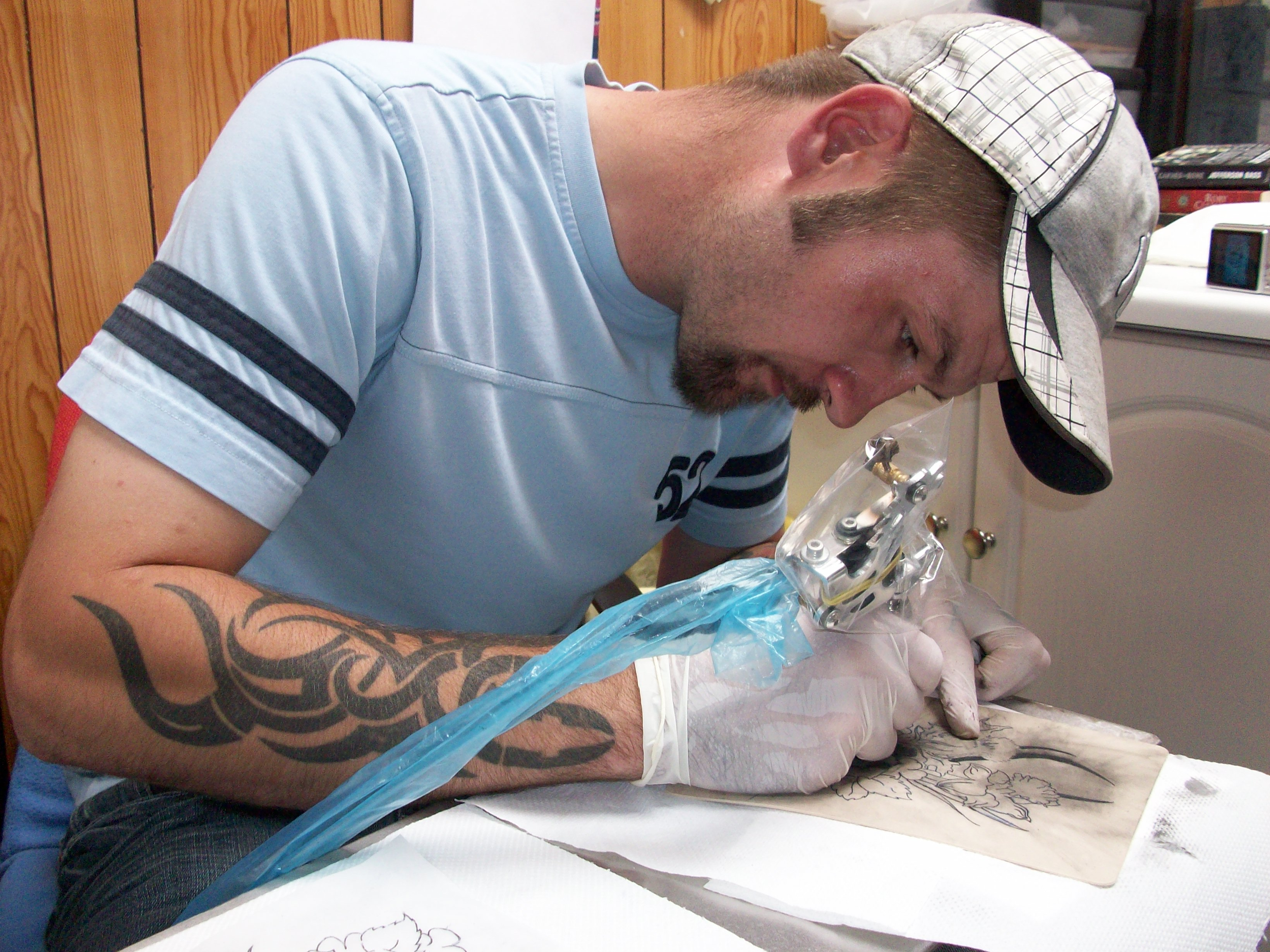Tattoo taster course in the midlands learn to tattoo for Learn to do tattoos