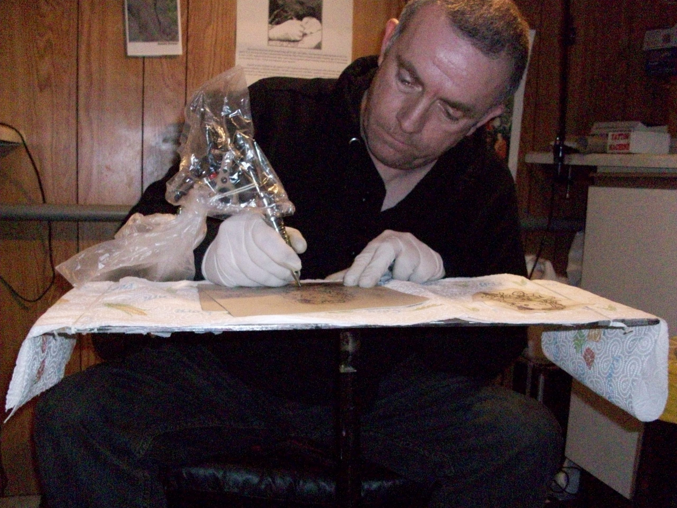 Leigh Completed our Tattoo Training Course December 2010